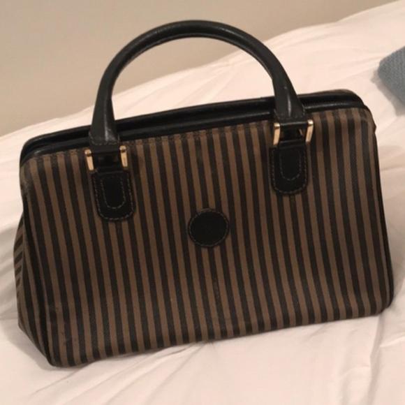 ad9cf5bce79f Fendi Handbags - FENDI VINTAGE DOCTOR BAG!